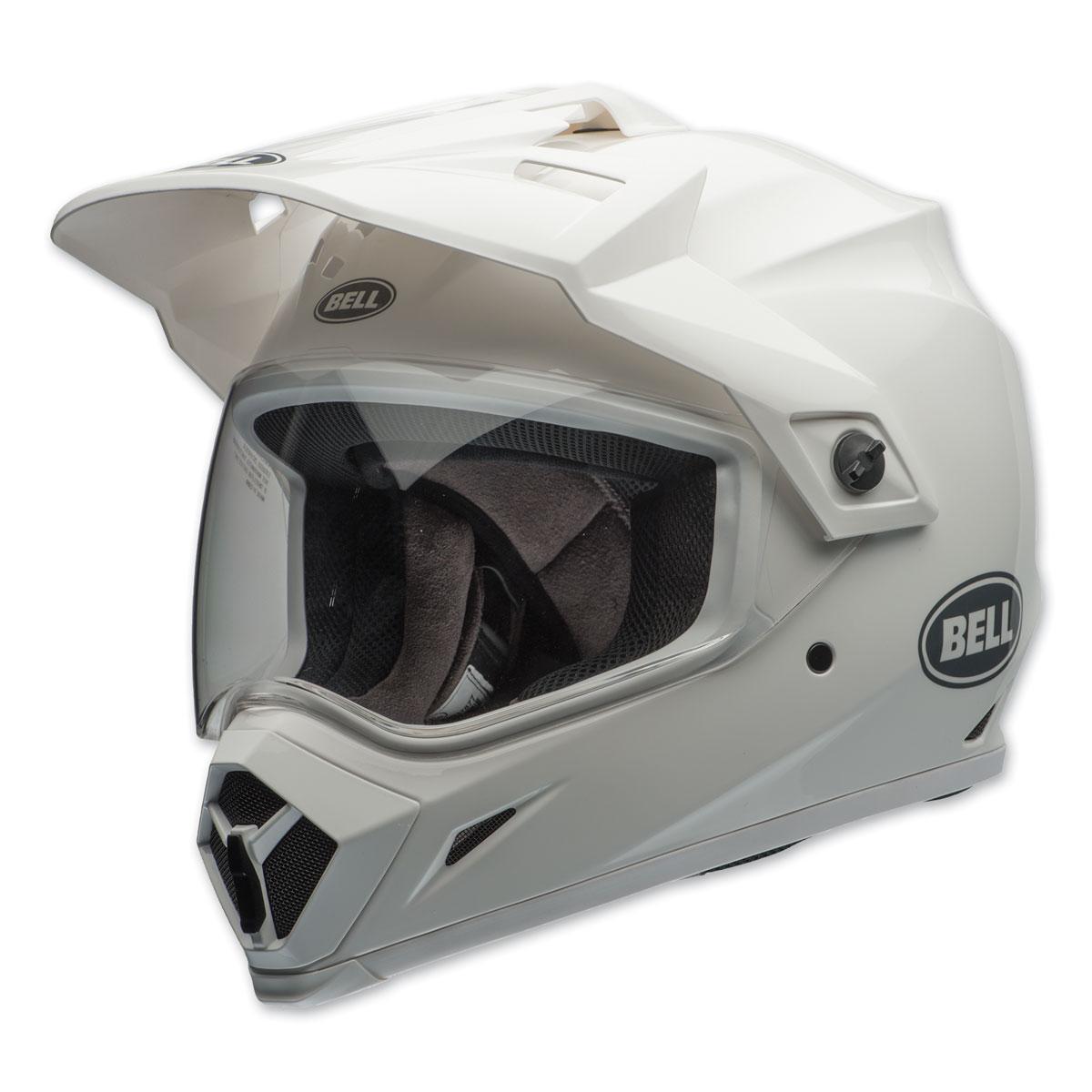 Bell MX-9 Adventure MIPS Gloss White Dual Sport Helmet