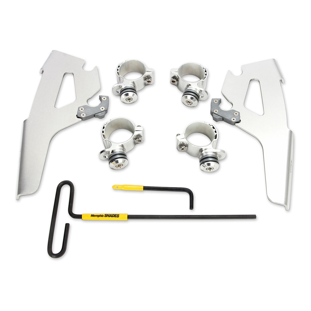 Memphis Shades Fats/Slims Polished Trigger Lock Mount Kit