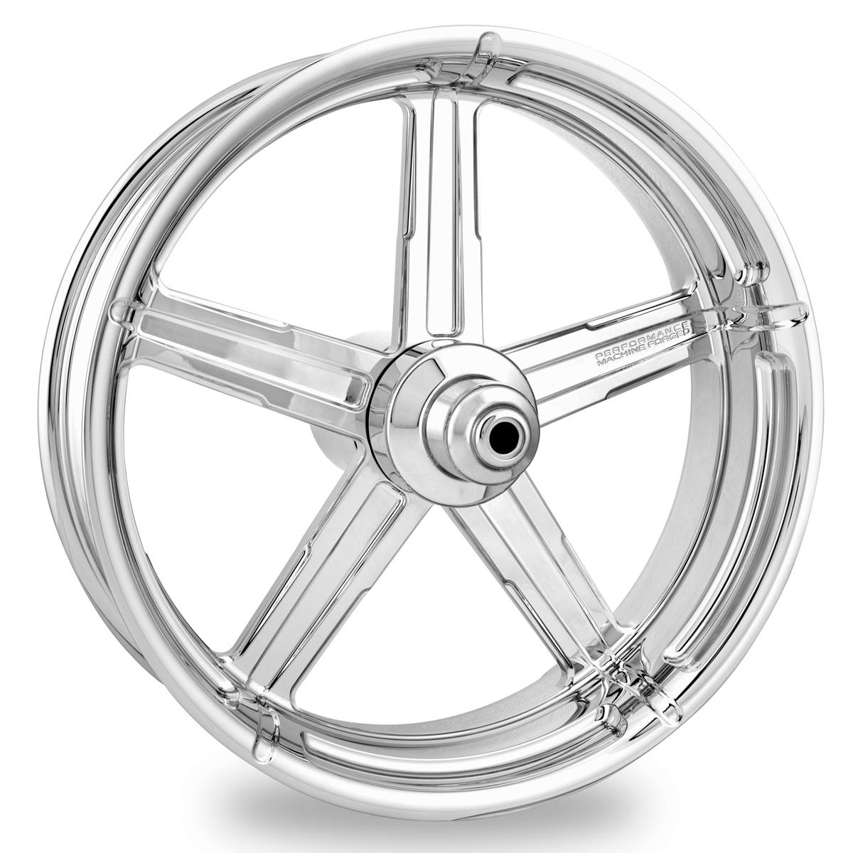 Performance Machine Formula Chrome Front Wheel 21x3.5 ABS