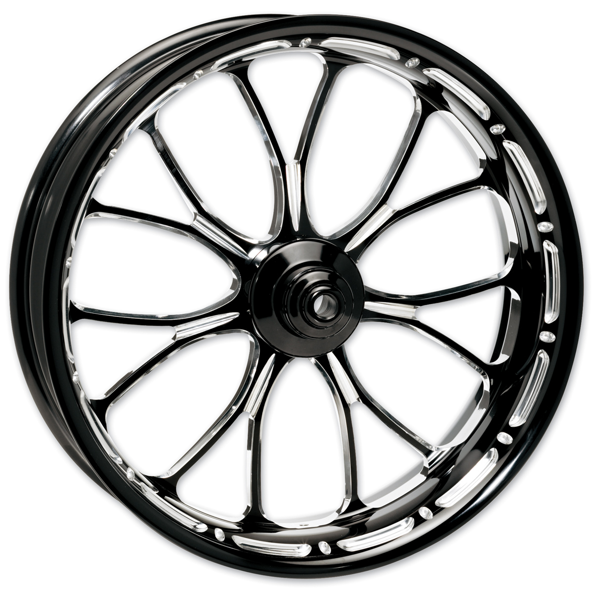 Performance Machine Heathen Platinum Cut Rear Wheel 17x17.6 Non-ABS