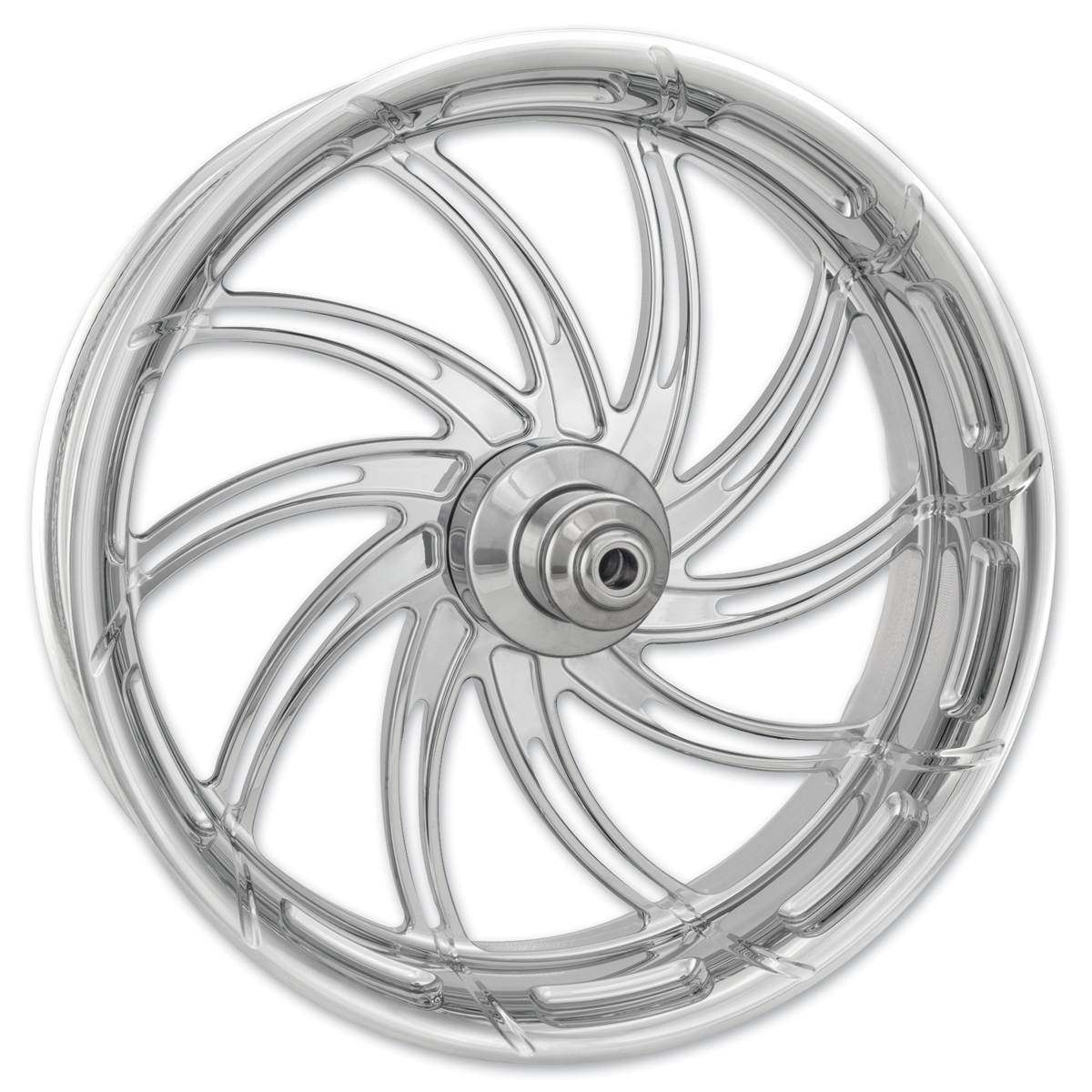 Performance Machine Supra Chrome Rear Wheel 17x6 Non-ABS
