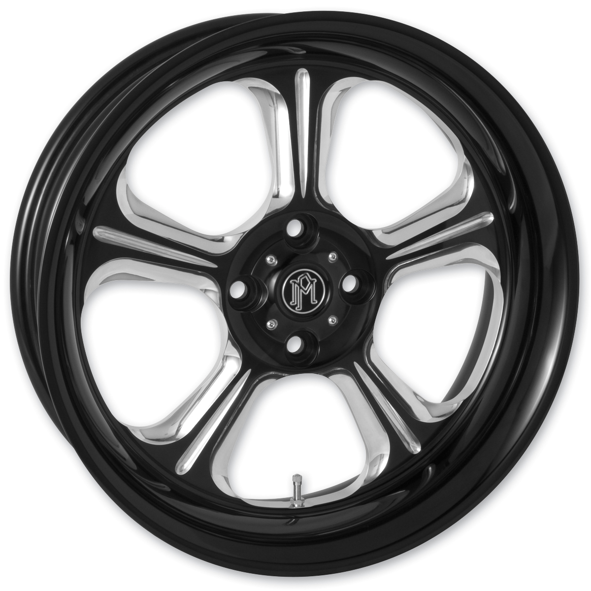 Performance Machine Wrath Platinum Contrast Cut Rear Wheel 18x5.5 Non-ABS