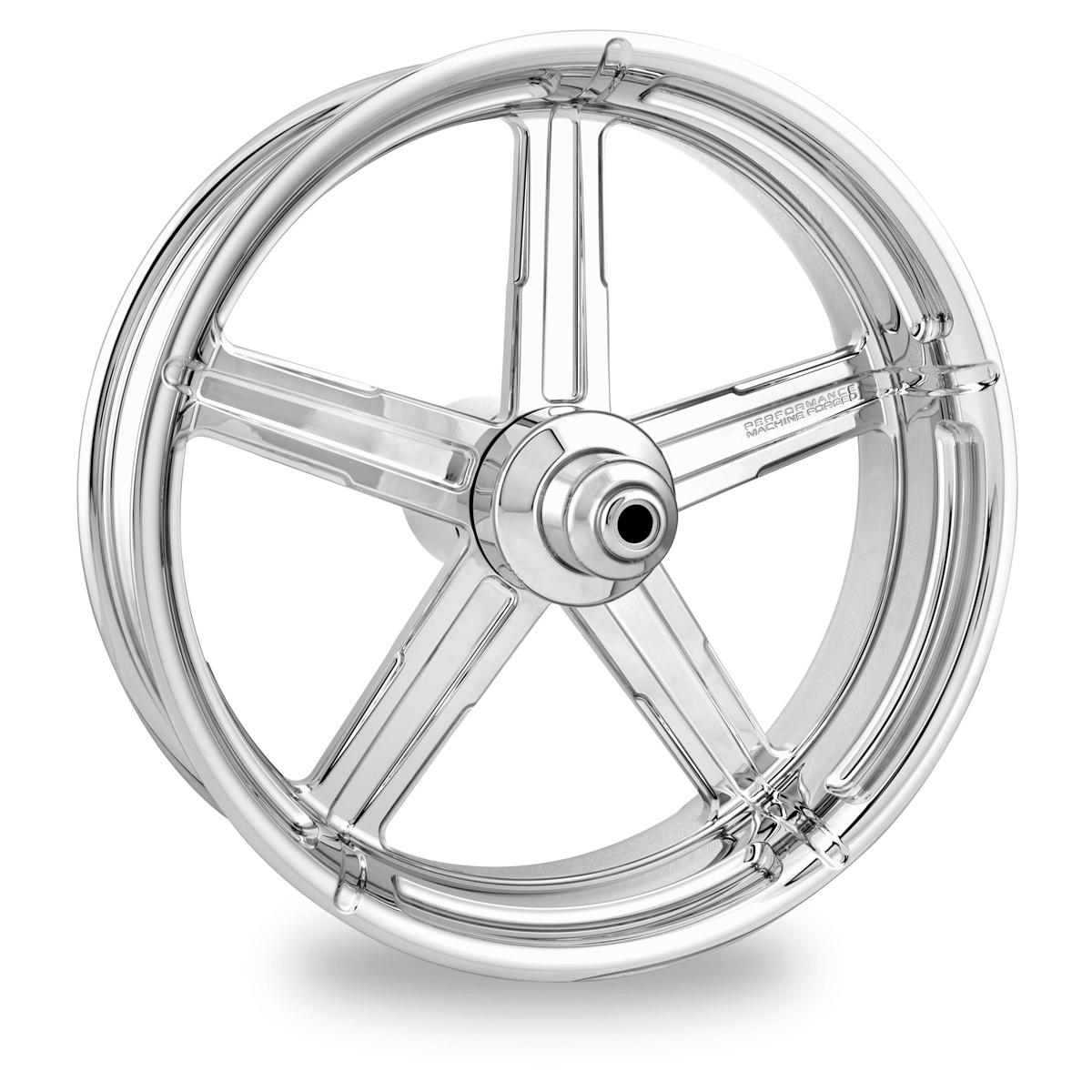 Performance Machine Formula Chrome Rear Wheel 17x6 ABS