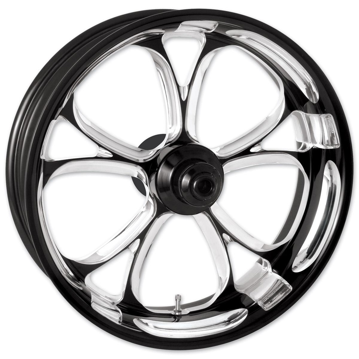 Performance Machine Luxe Platinum Cut Rear Wheel 17x6 ABS