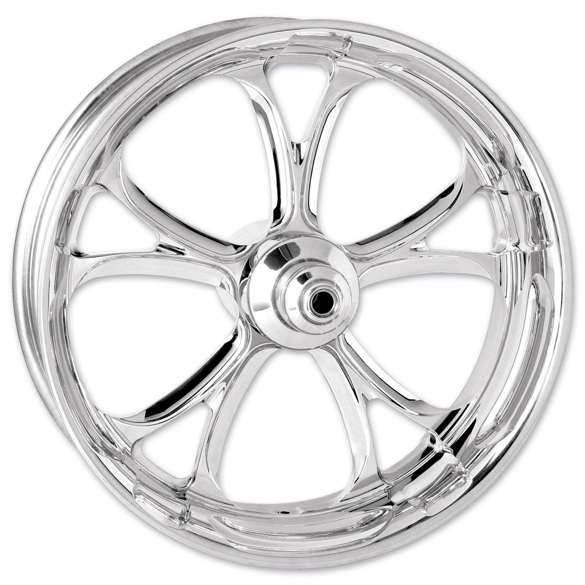 Performance Machine Luxe Chrome Rear Wheel 18x5.5 ABS