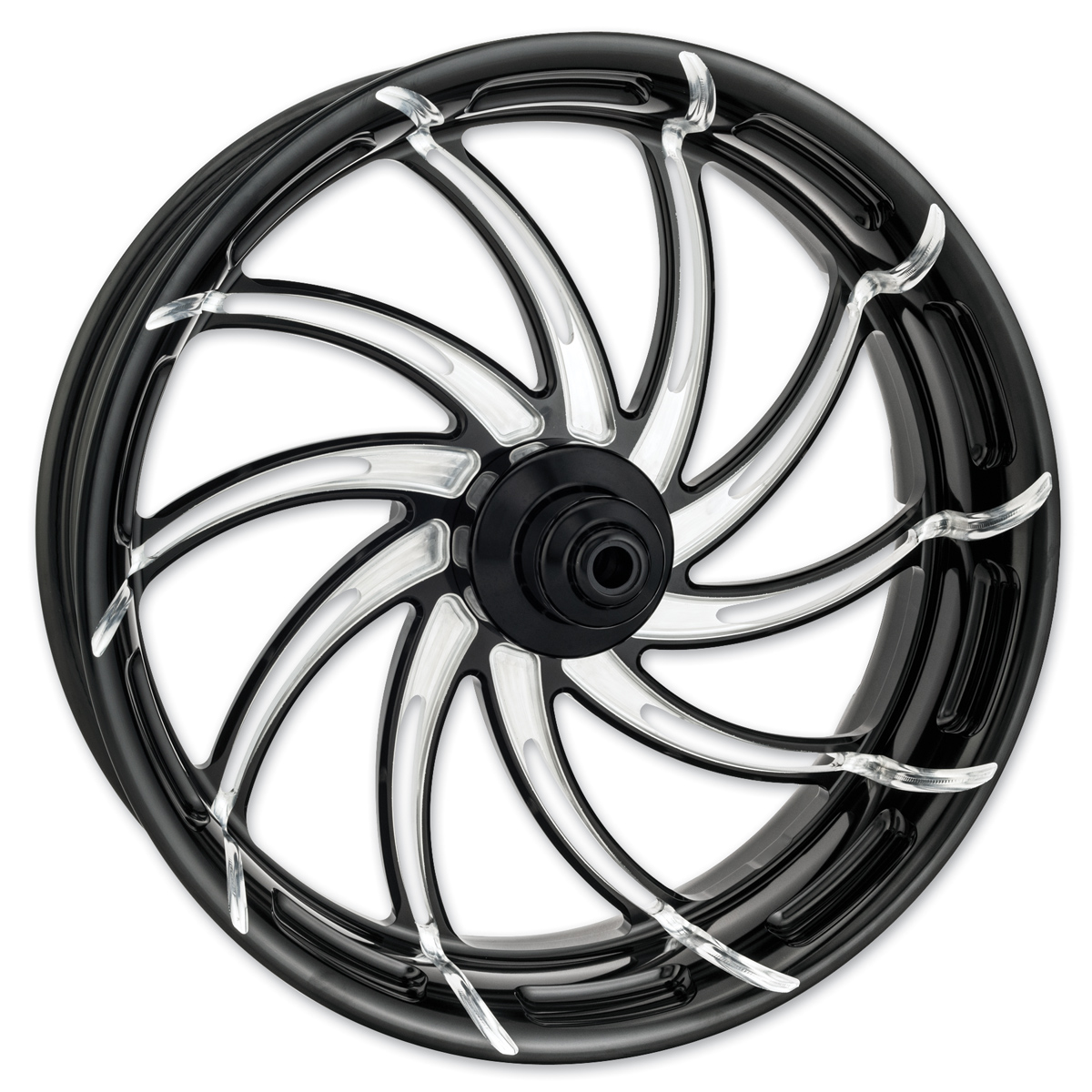 Performance Machine Supra Platinum Cut Front Wheel, 21