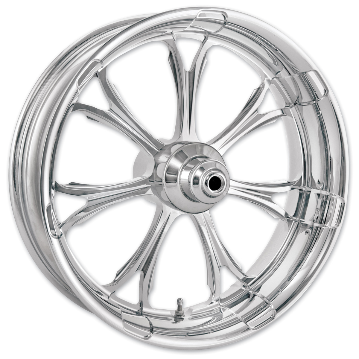 Performance Machine Paramount Chrome Front Wheel 21x3.5 Non-ABS