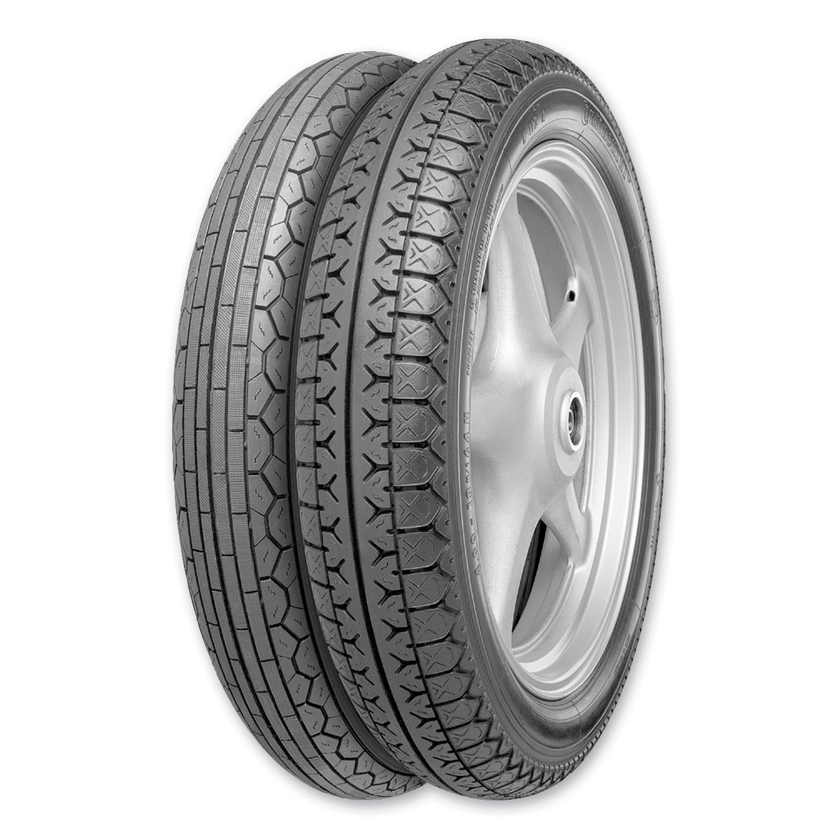 Continental Twins Classic 4.00H18 K112 Rear Tire