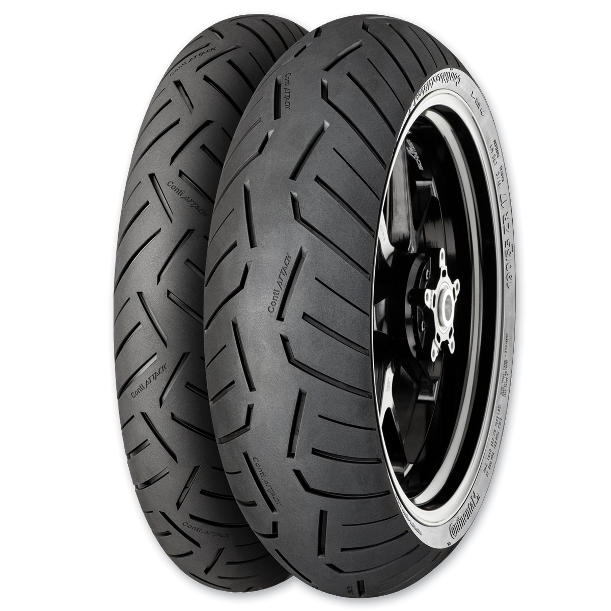 Continental Road Attack 3 120/70ZR17 Front Tire