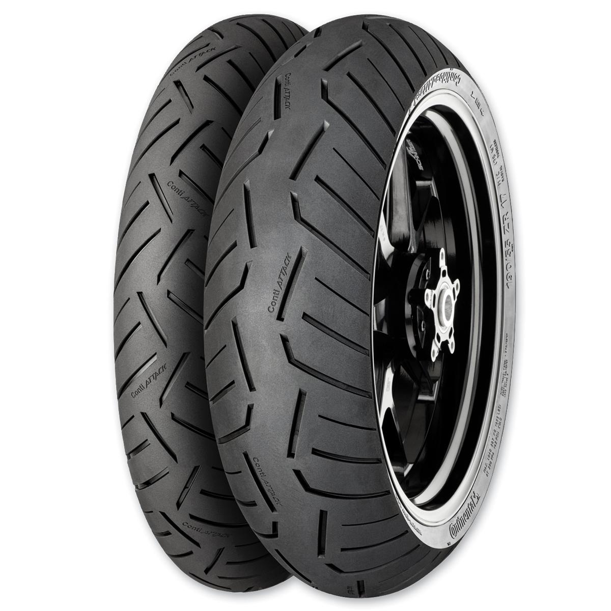 Continental Road Attack 3 190/55ZR17 Rear Tire