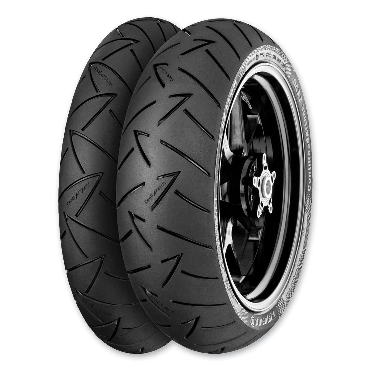 Continental Road Attack EVO 110/80R19 Front Tire