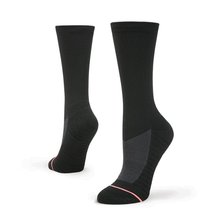 Stance Women's Circuit Crew Black Socks