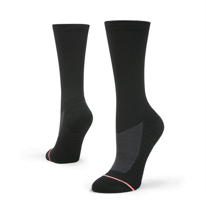 Stance Women's Circuit Crew Black Socks
