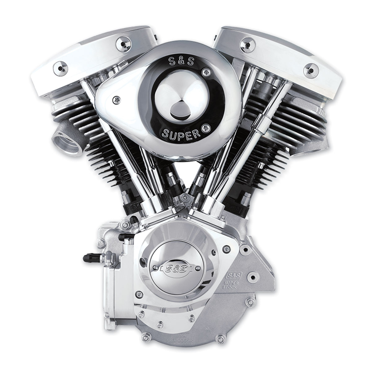 S&S Cycle SH80 Complete Assembled Engine
