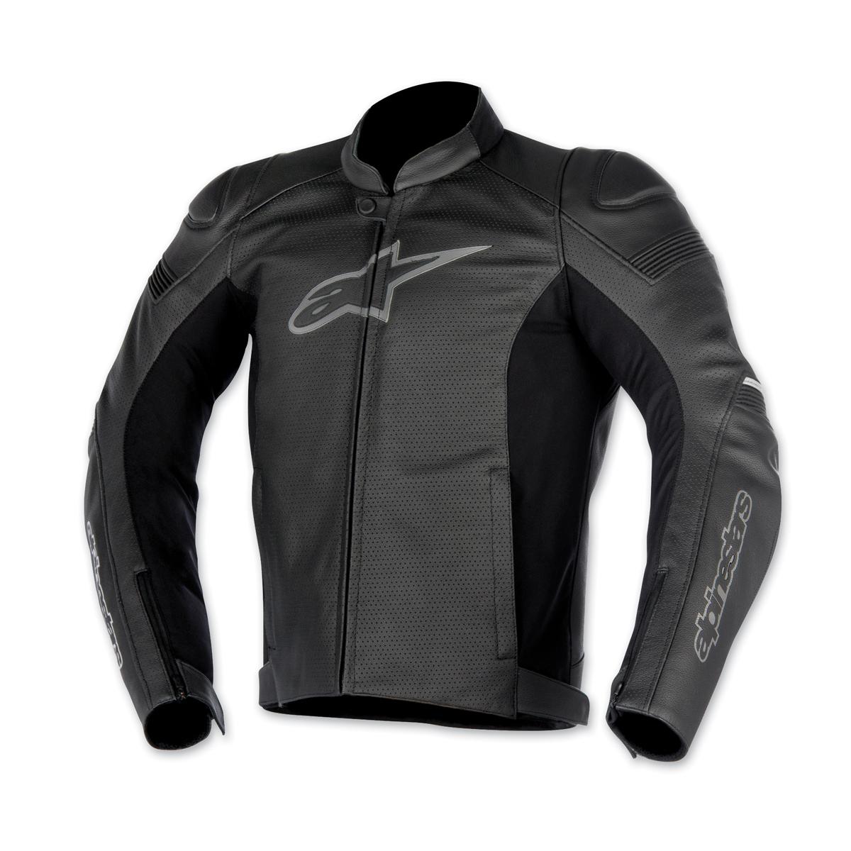Alpinestars Men's Black SP-1 Airflow Leather Jacket