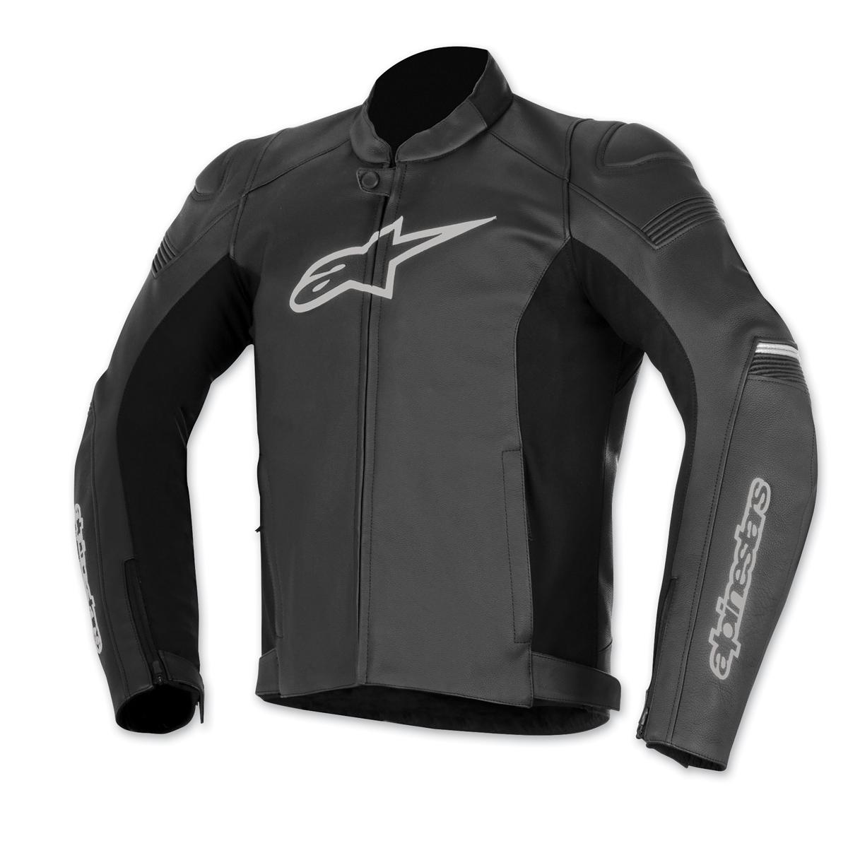 Alpinestars Men's SP-1 Black Leather Jacket