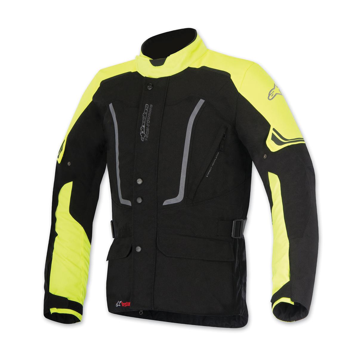 Alpinestars Men's Vence Drystar Black/Yellow Jacket