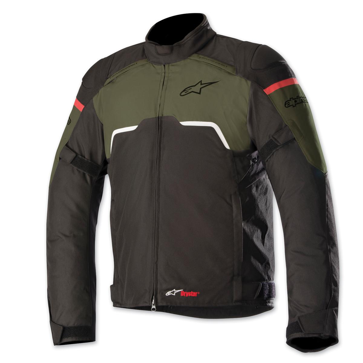 Alpinestars Men's Hyper Drystar Black/Green Jacket