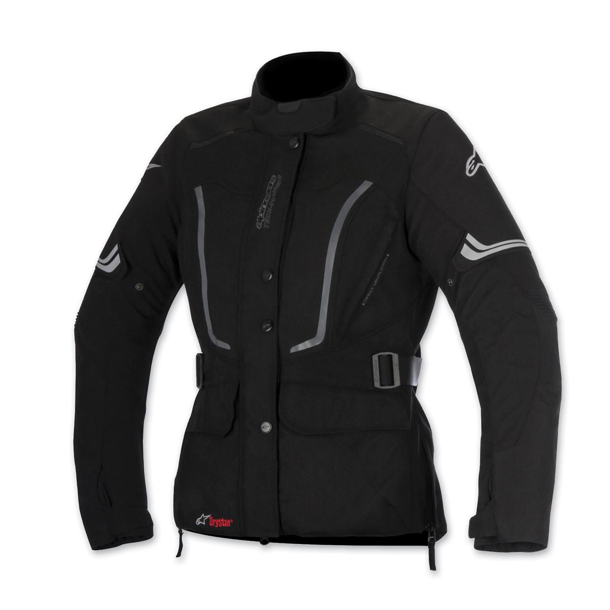 Alpinestars Women's Stella Vence Drystar Black Jacket