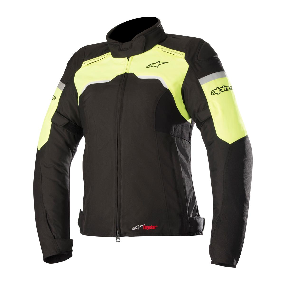 Alpinestars Women's Stella Hyper Drystar Black/Yellow Jacket