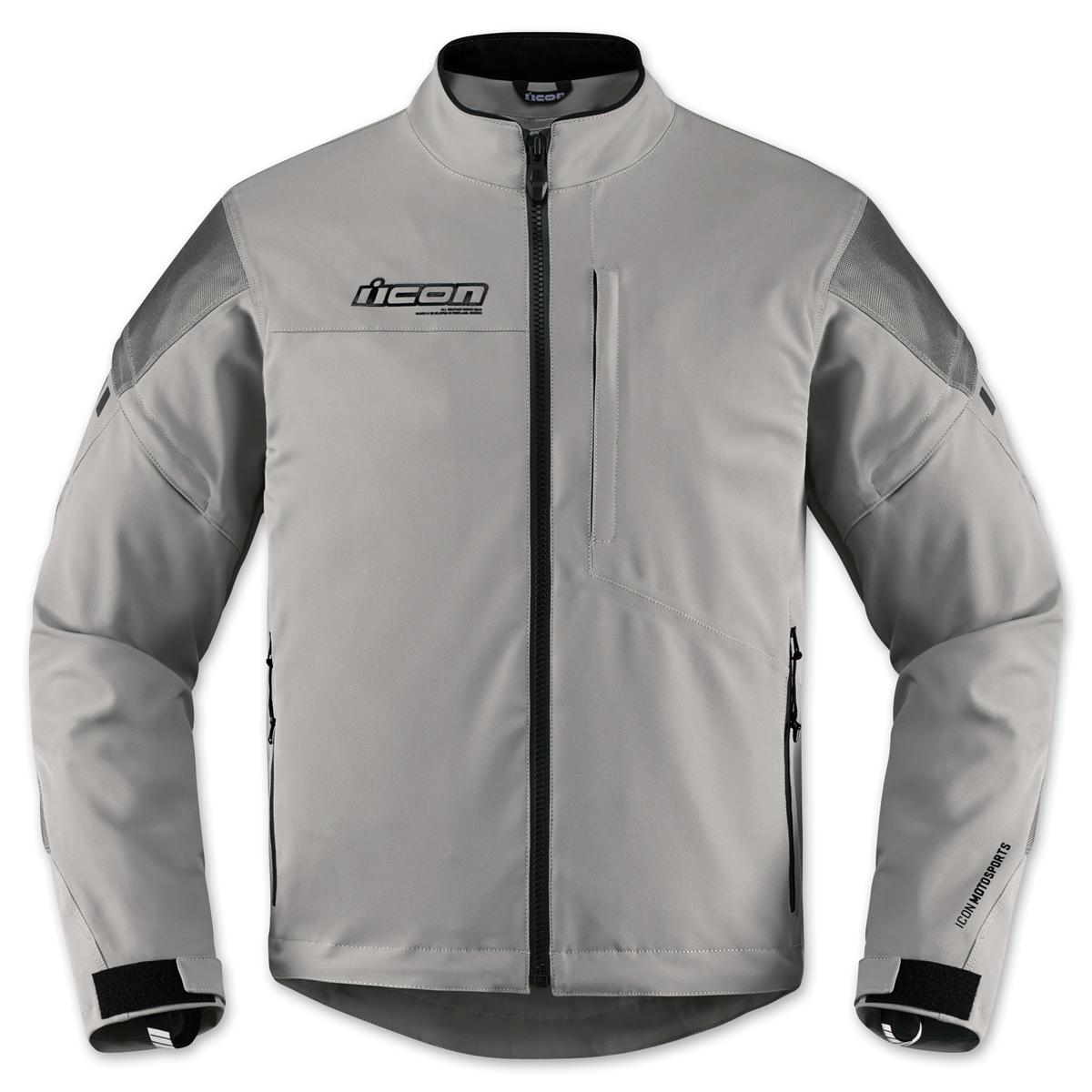 ICON Men's Tarmac Gray Jacket