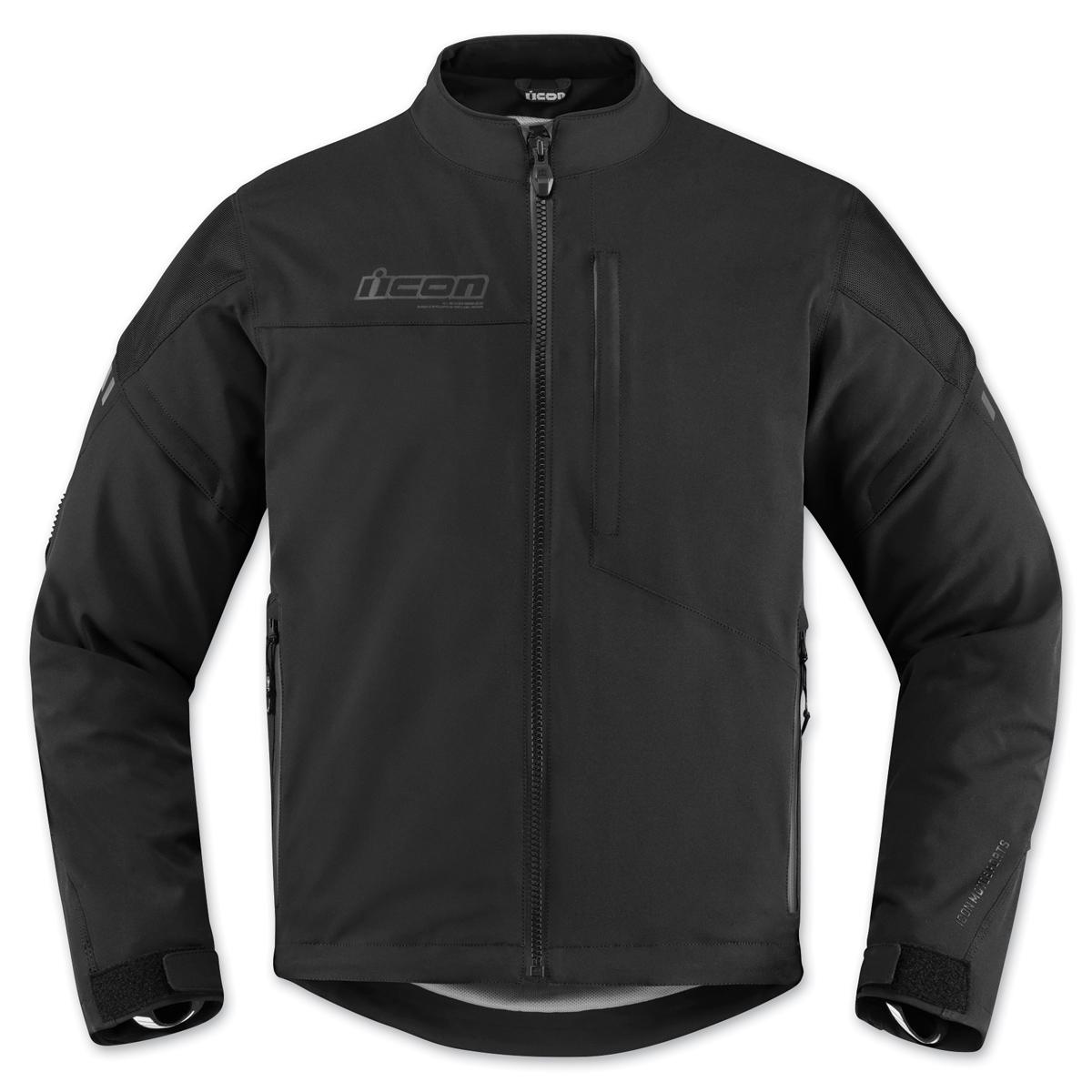 ICON Men's Tarmac Black Jacket