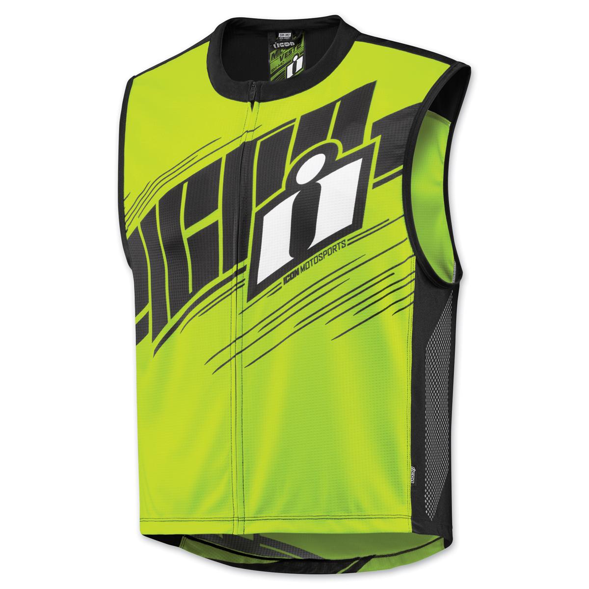 ICON Men's Mil-Spec 2 Hi-Viz Yellow Vest