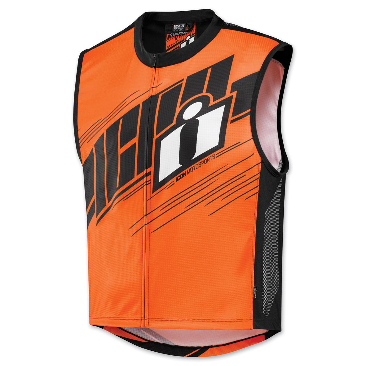ICON Men's Mil-Spec 2 Hi-Viz Orange Vest