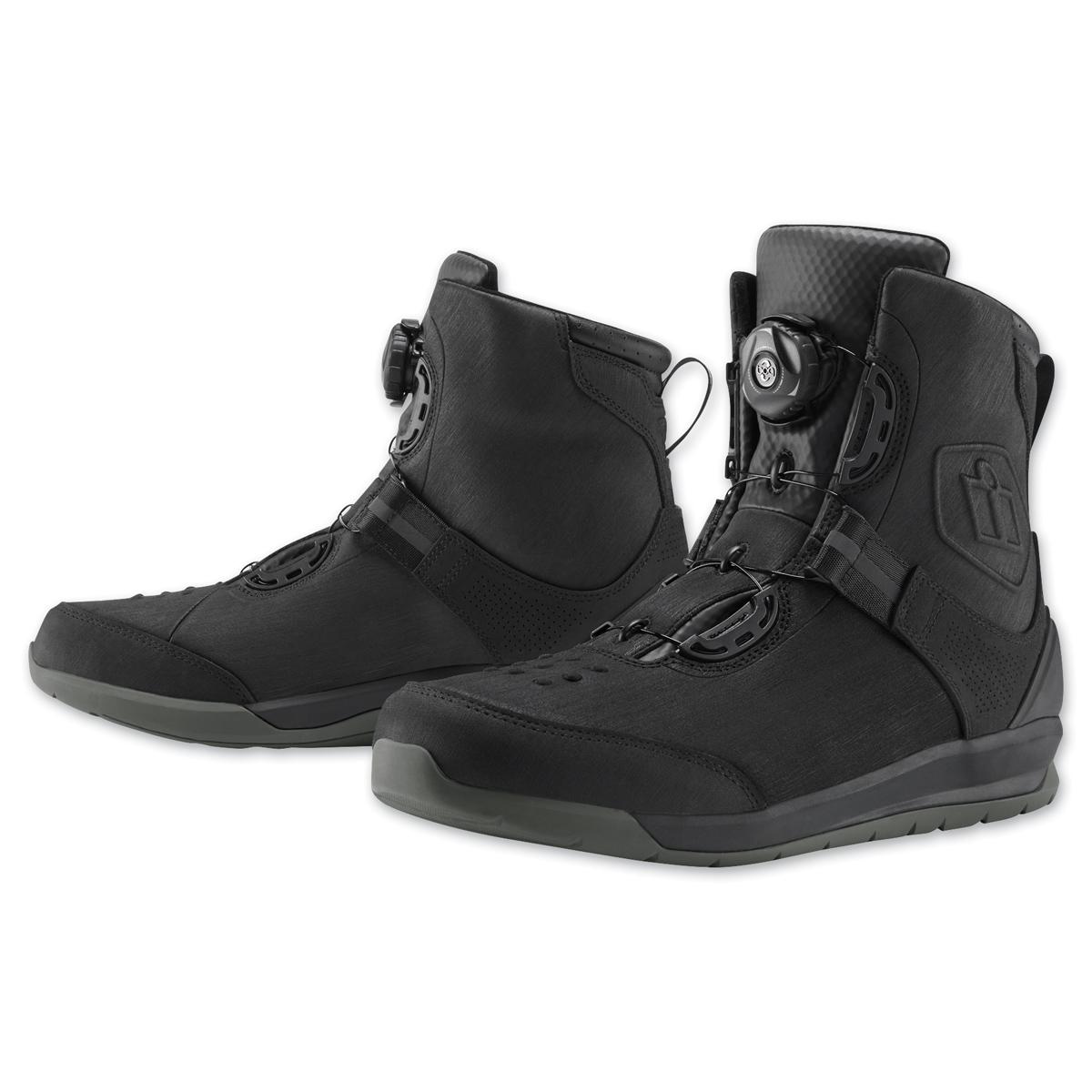 ICON Men's Patrol 2 Black Boots