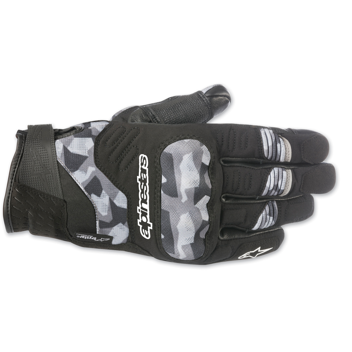 Alpinestars Men's C-30 Drystar Black/Camo Gloves