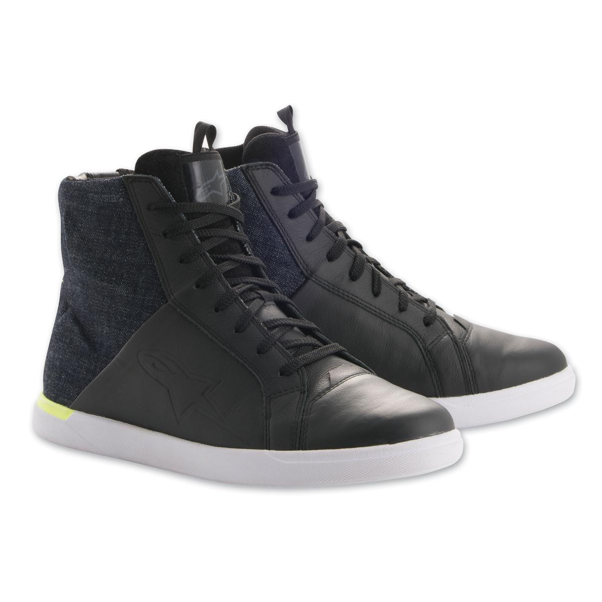 Alpinestars Mens Jam Drystar Black/Yellow Shoes