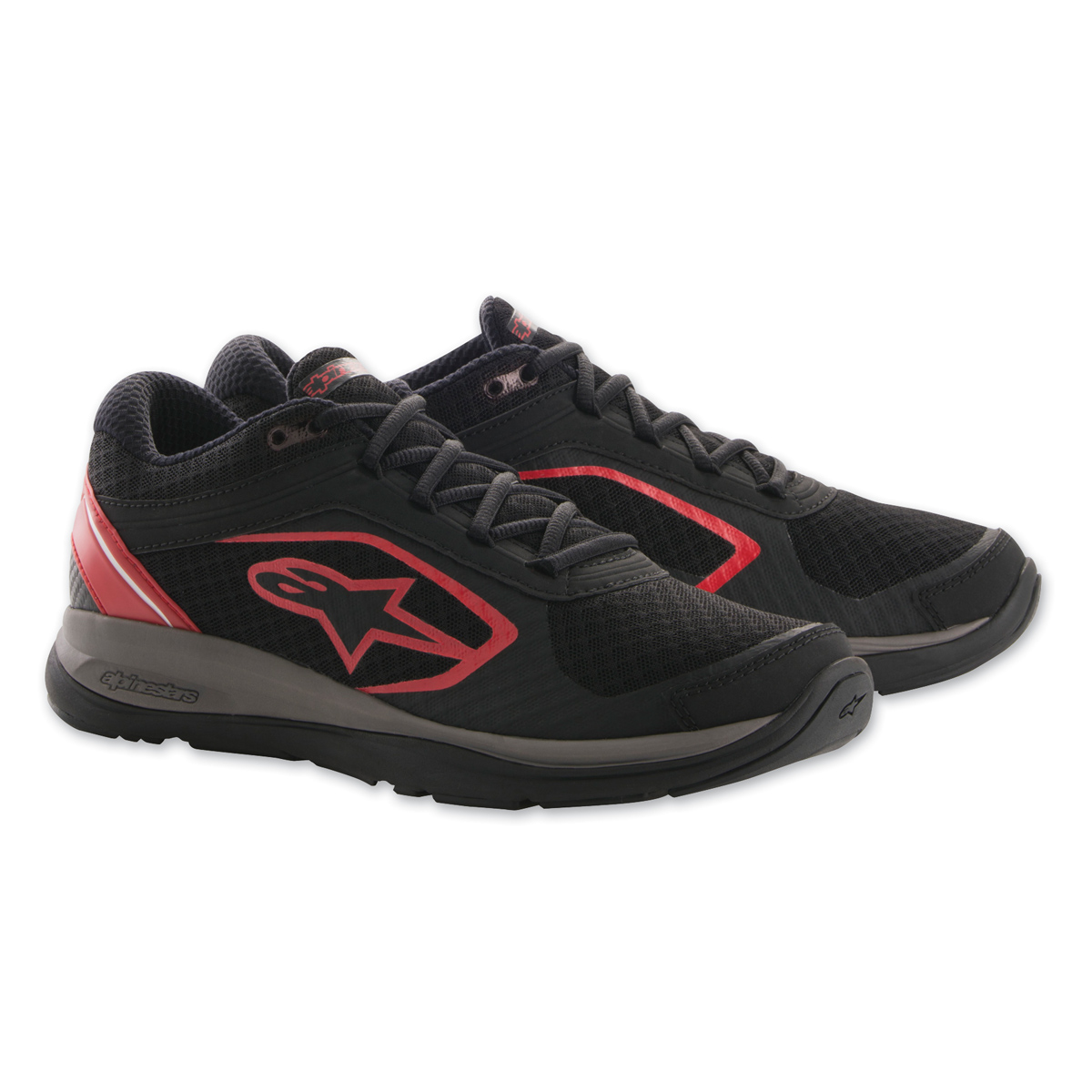 Alpinestars Men's Alloy Black/Red Shoes