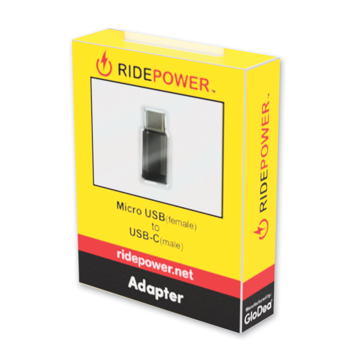 RidePower Micro USB-USB-C Adapter