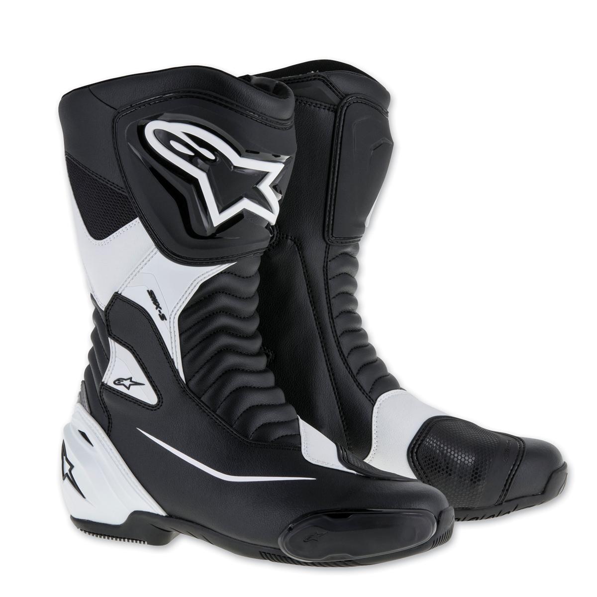 Alpinestars Men's SMX-S Black/White Boots