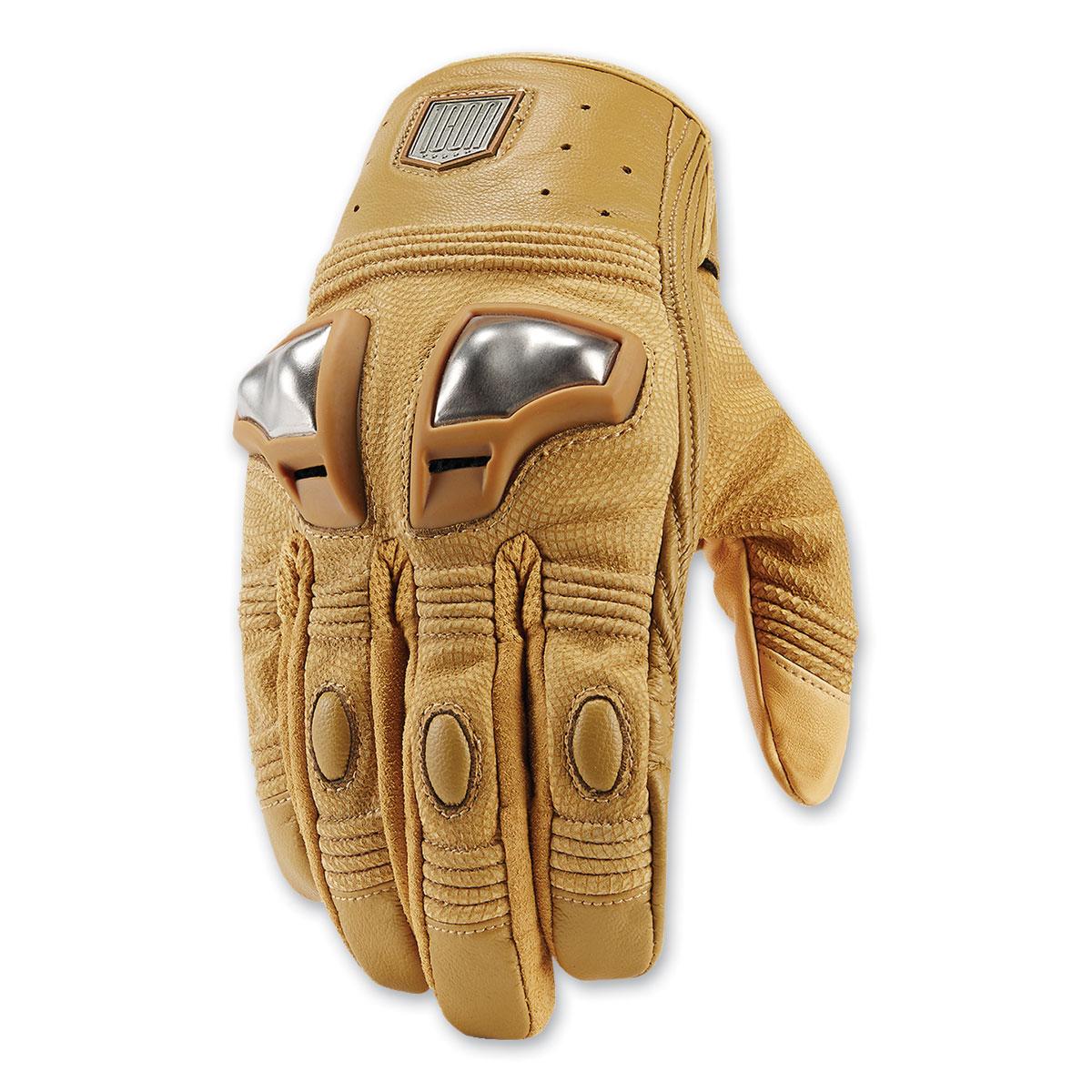 ICON One Thousand Men's Retrograde Tan Gloves