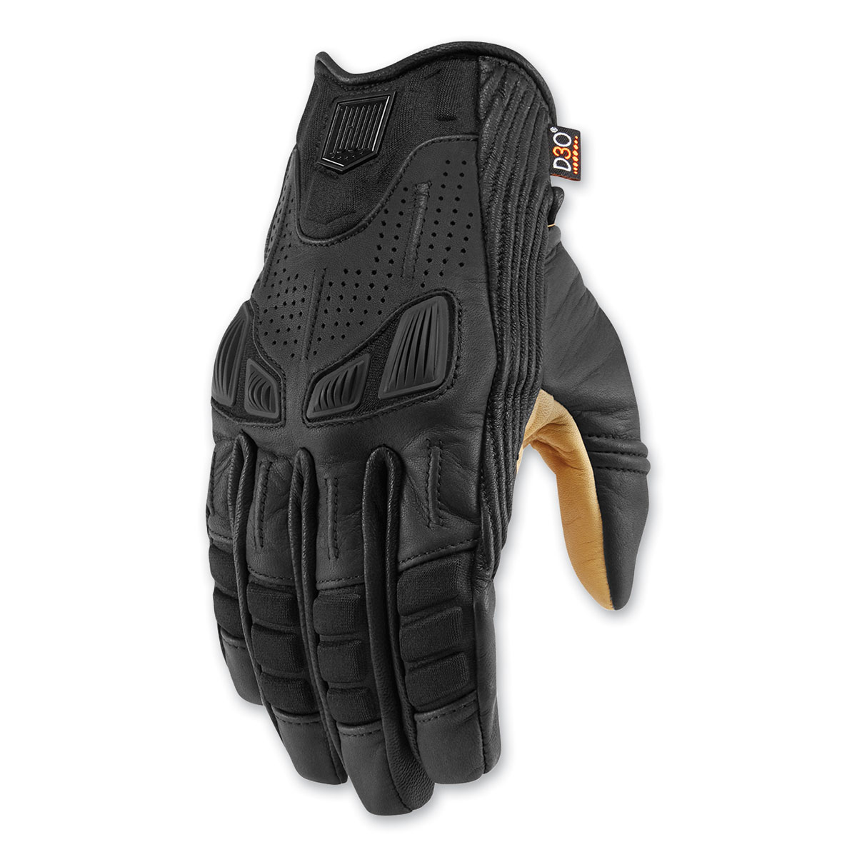 ICON One Thousand Men's Axys Black Gloves