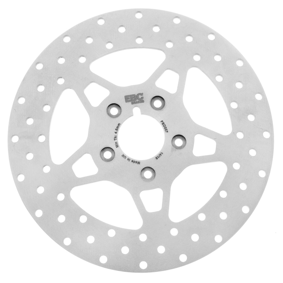 EBC 11.5″ Solid Wide Band Stainless Front Brake Rotor
