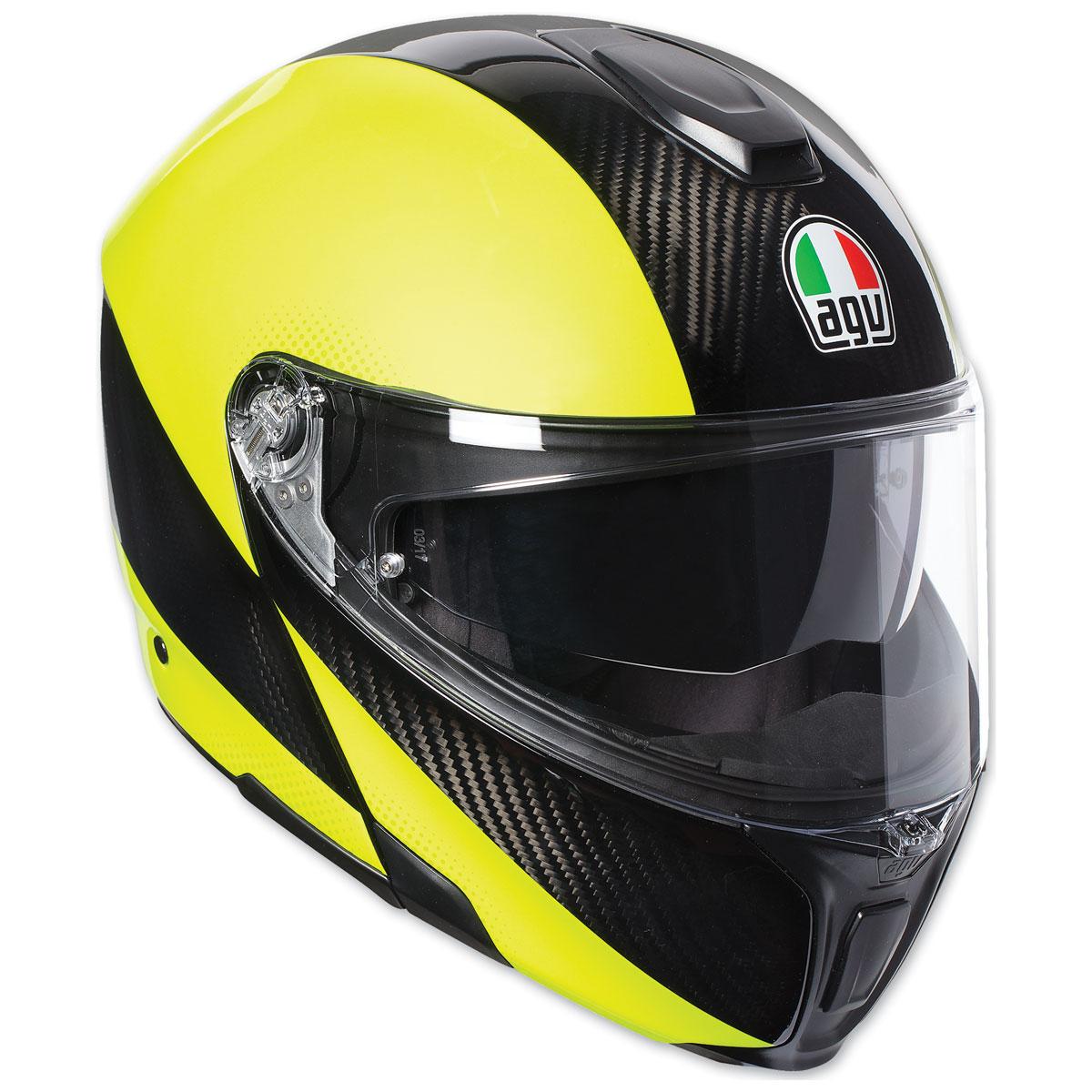 AGV Sport Modular Hi-Vis Carbon Helmet