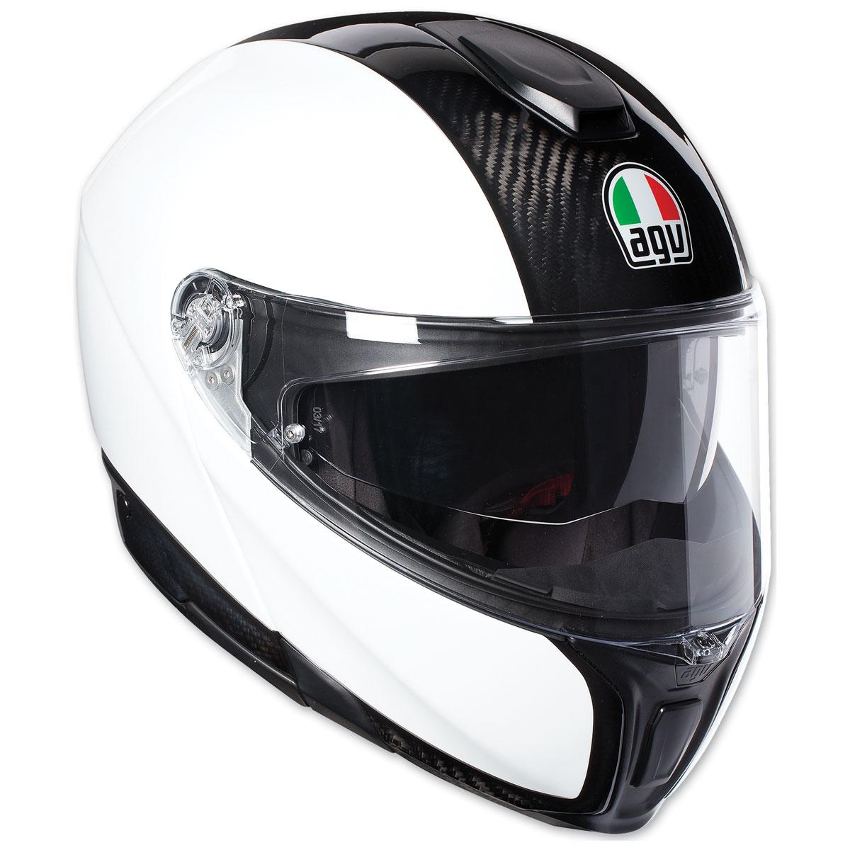 AGV Sport Modular Carbon/White Full Face Helmet
