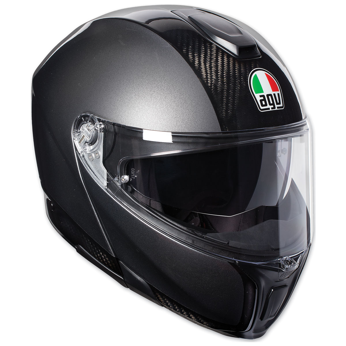bc933614 AGV Sport Modular Carbon/Dark Gray Helmet - 1201O4IY002XL | JPCycles.com