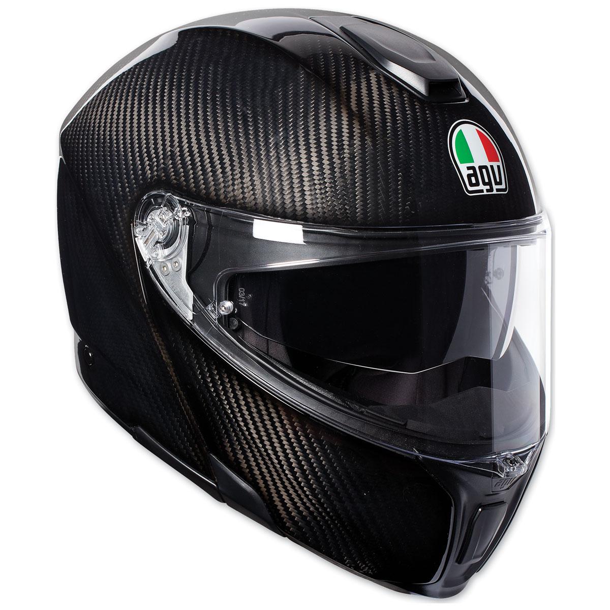 AGV Sport Modular Glossy Carbon Helmet