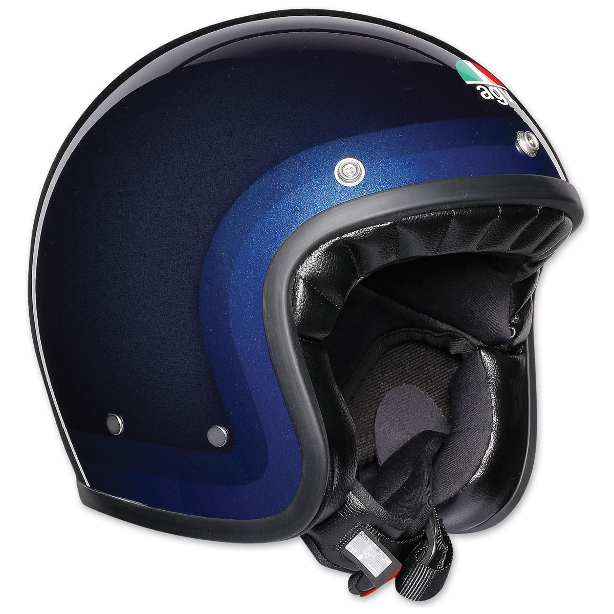 AGV X70 Trofeo Blue Open Face Helmet