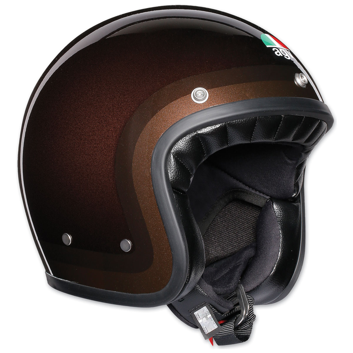 AGV X70 Trofeo Chocolate Open Face Helmet