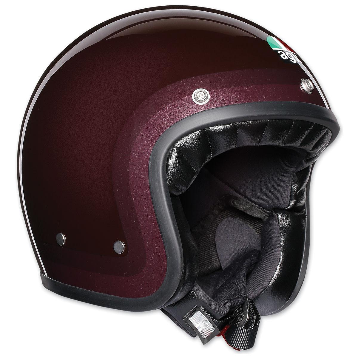 AGV X70 Trofeo Purple Red Open Face Helmet