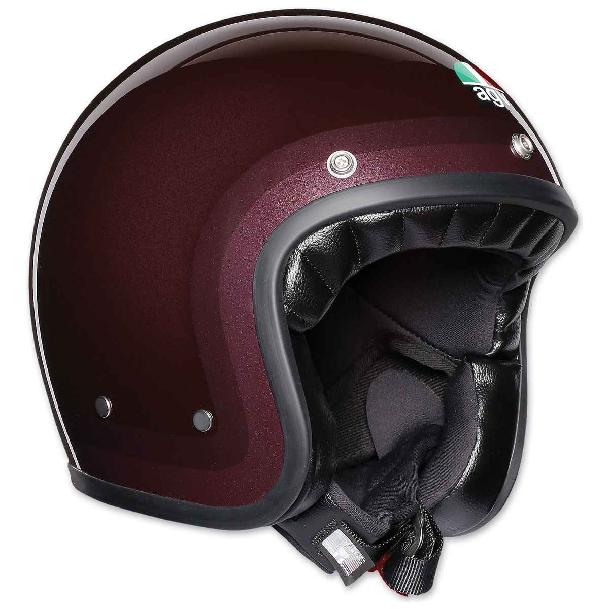 AGV X70 Trofeo Purple Red Open Face Helmet