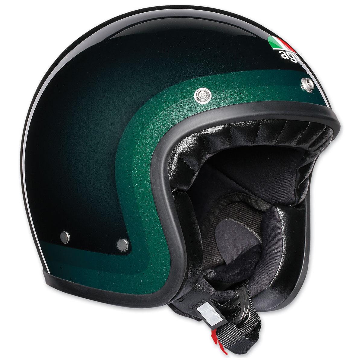 AGV X70 Trofeo Green Open Face Helmet