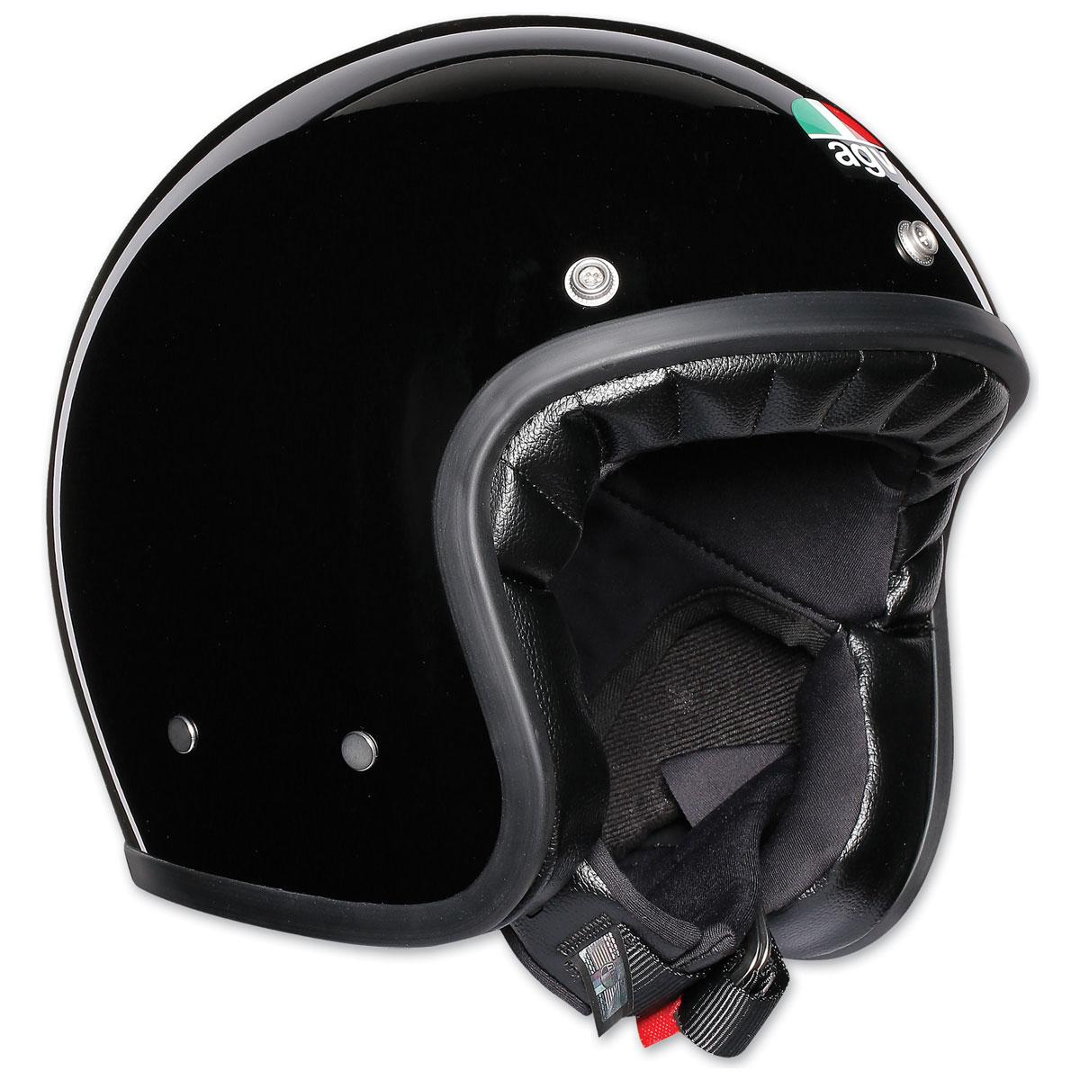 AGV X70 Gloss Black Open Face Helmet