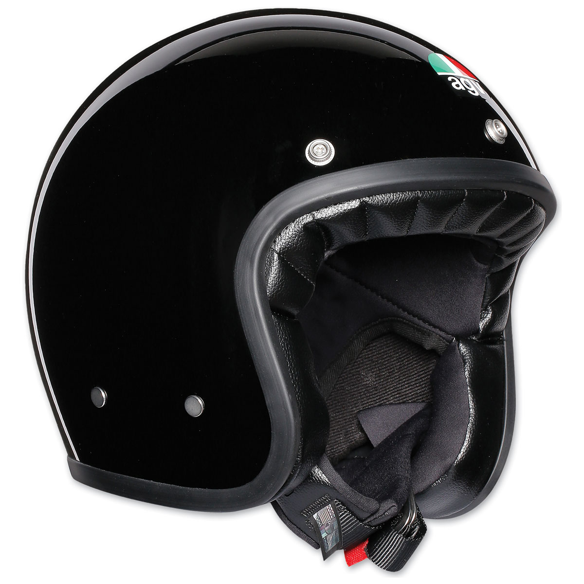 AGV X70 Gloss Black Open Face Helmet