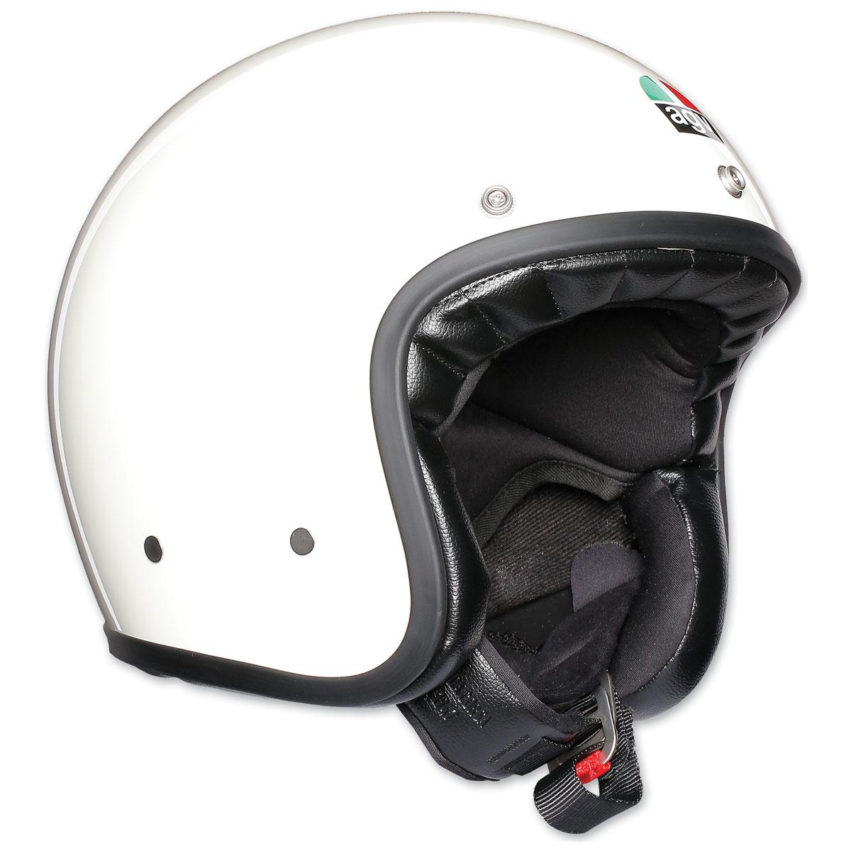 AGV X70 Gloss White Open Face Helmet