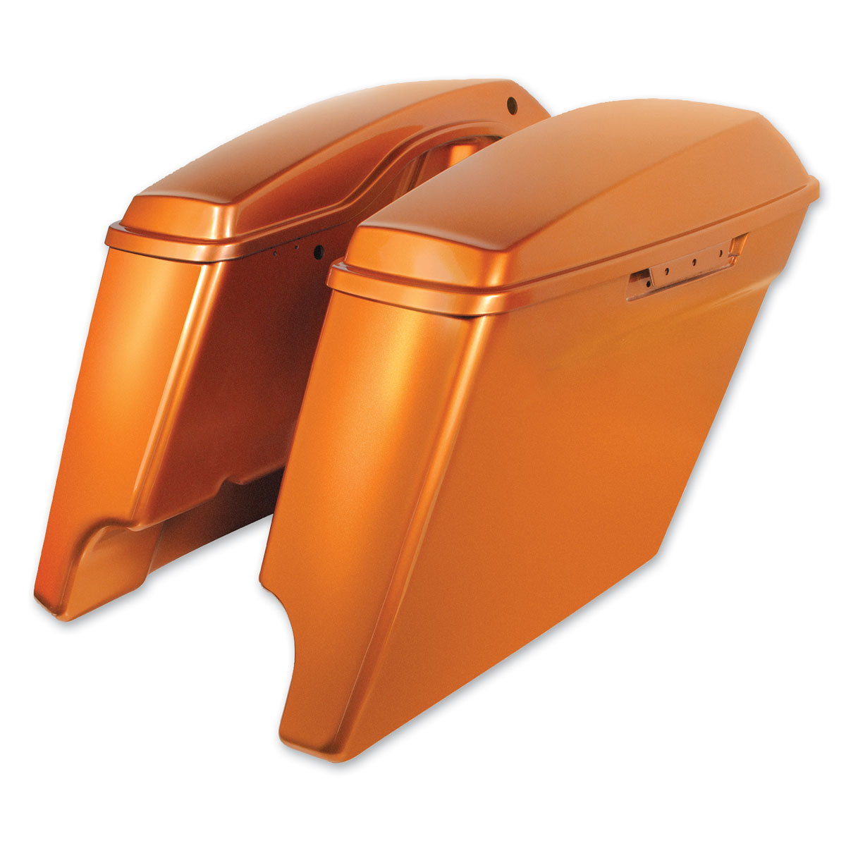 HogWorkz Amber Whiskey 4″ Extended Saddlebags
